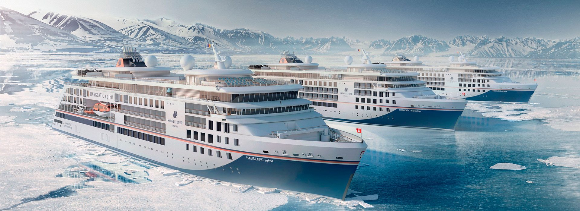 Expeditionsschiffe Hanseatic