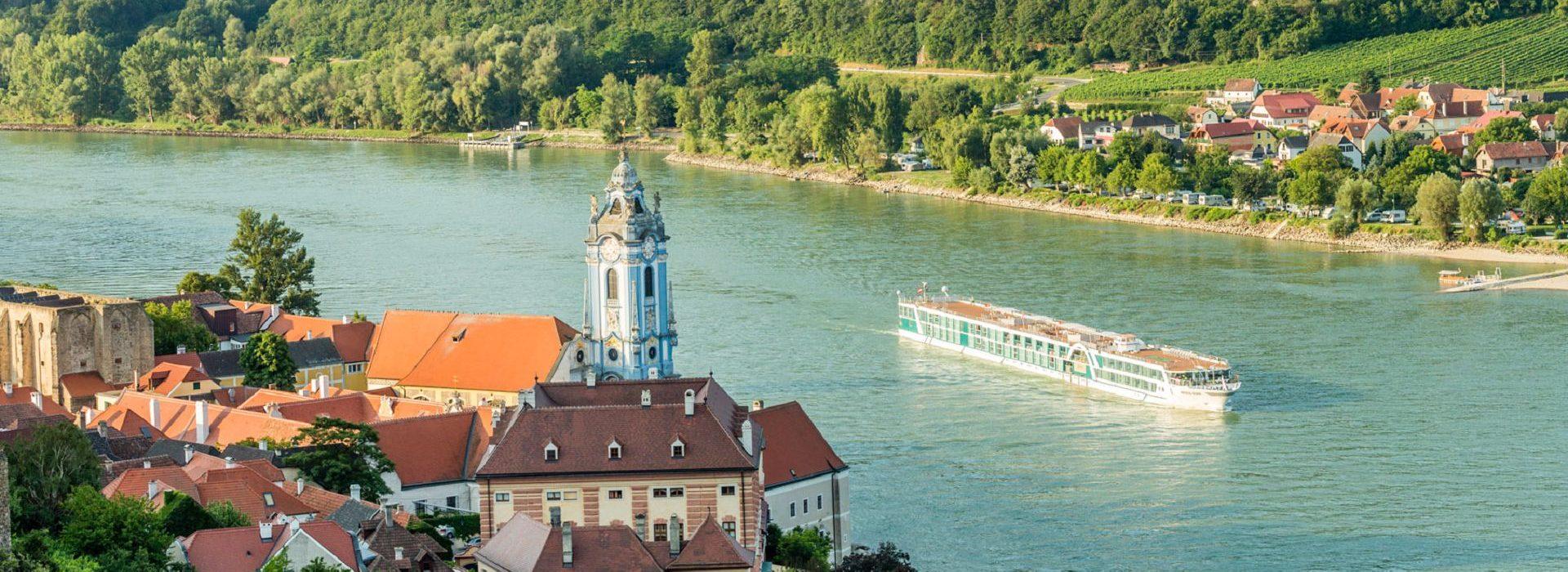 Amadeus Silver auf der Donau
