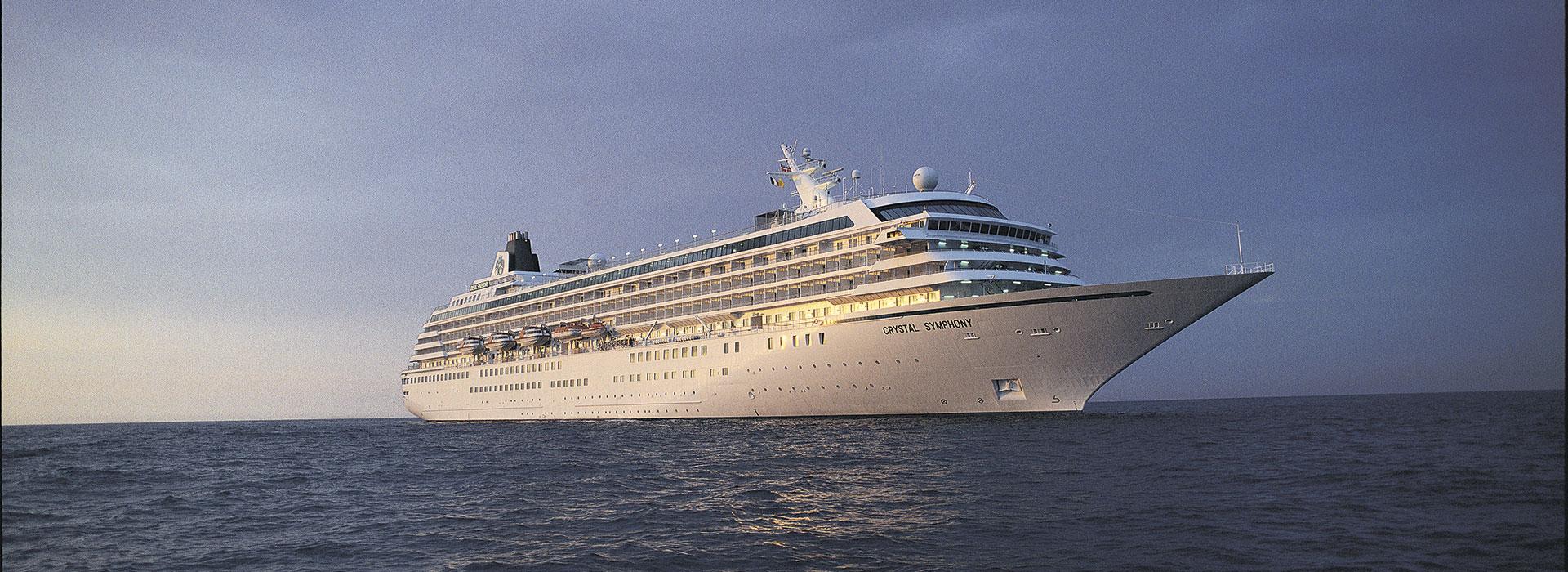 Luxuskreuzfahrtschiff Crystal Symphony