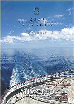 Crystal Cruises Kreuzfahrten- <br> Kalender 2020