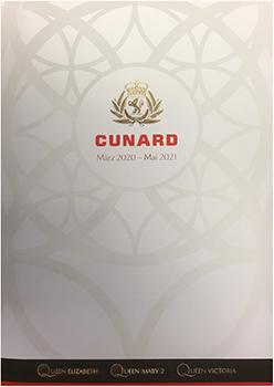 Cunard Reisen März 2020 - Mai 2021