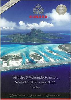 Cunard Weltreise & Weltentdeckerreisen <br> November 2021 - Juni 2022
