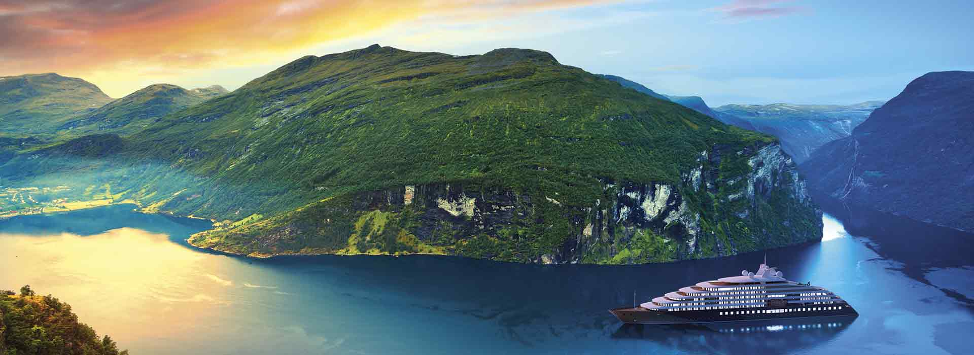Scenic Eclipse im Fjord