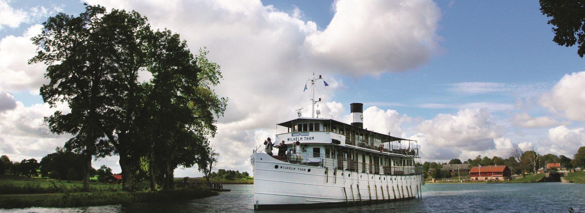 Gotakanal nostalgiesche Reisen mit der MS Wilhelm Tham