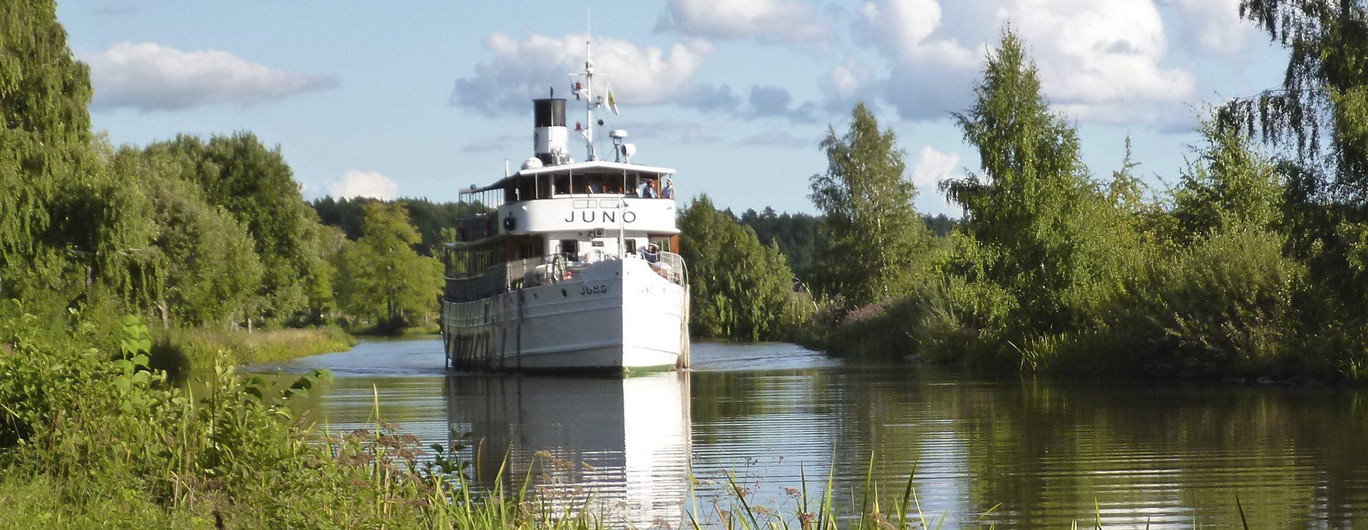 Göta Kanal Schiff M/S Juno