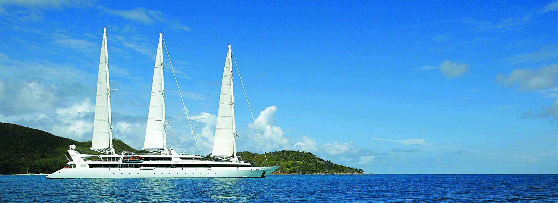 Le Ponant Segelschiff auf See