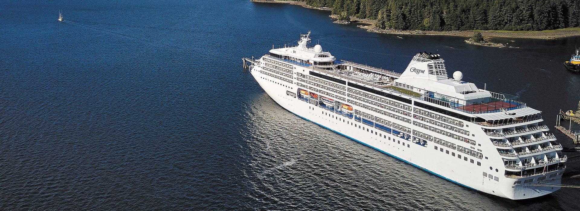 Regent Seven Seas, Kreuzfahrten, Mariner in Alaska