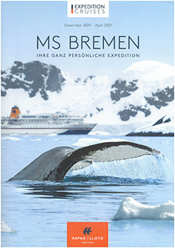 MS Bremen Dez. 2019  - Apr. 2021
