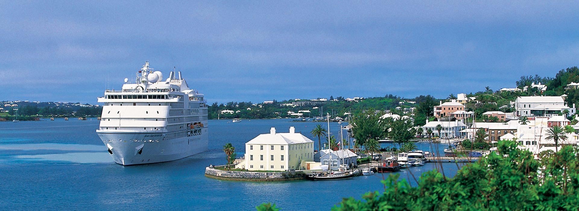 Regent Seven Seas, Kreuzfahrten, Navigator in Bermuda