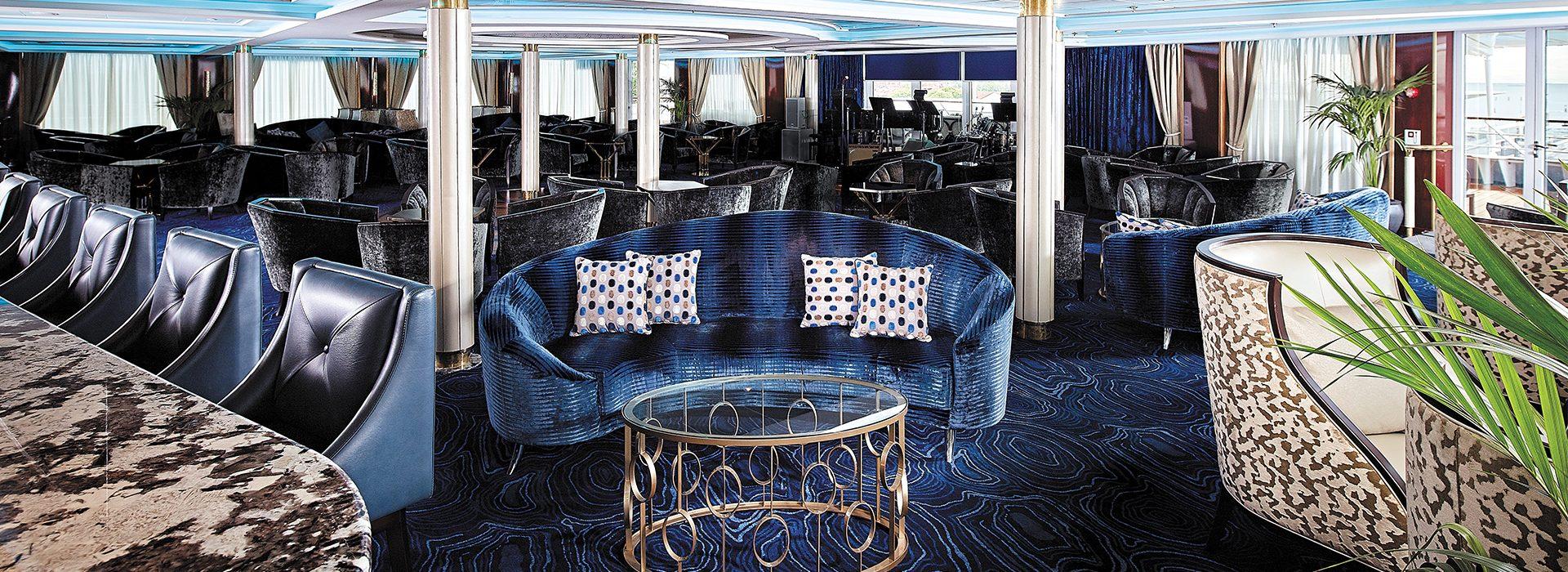 Regent Seven Seas, Kreuzfahrten, Navigator, Galileos-Lounge