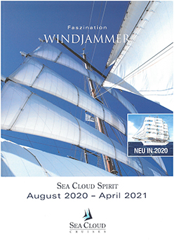 Sea Cloud Atlas Aug. 2020 bis Apr. 2021