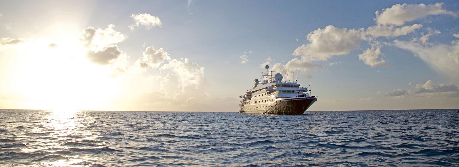 SeaDream Schiff auf See