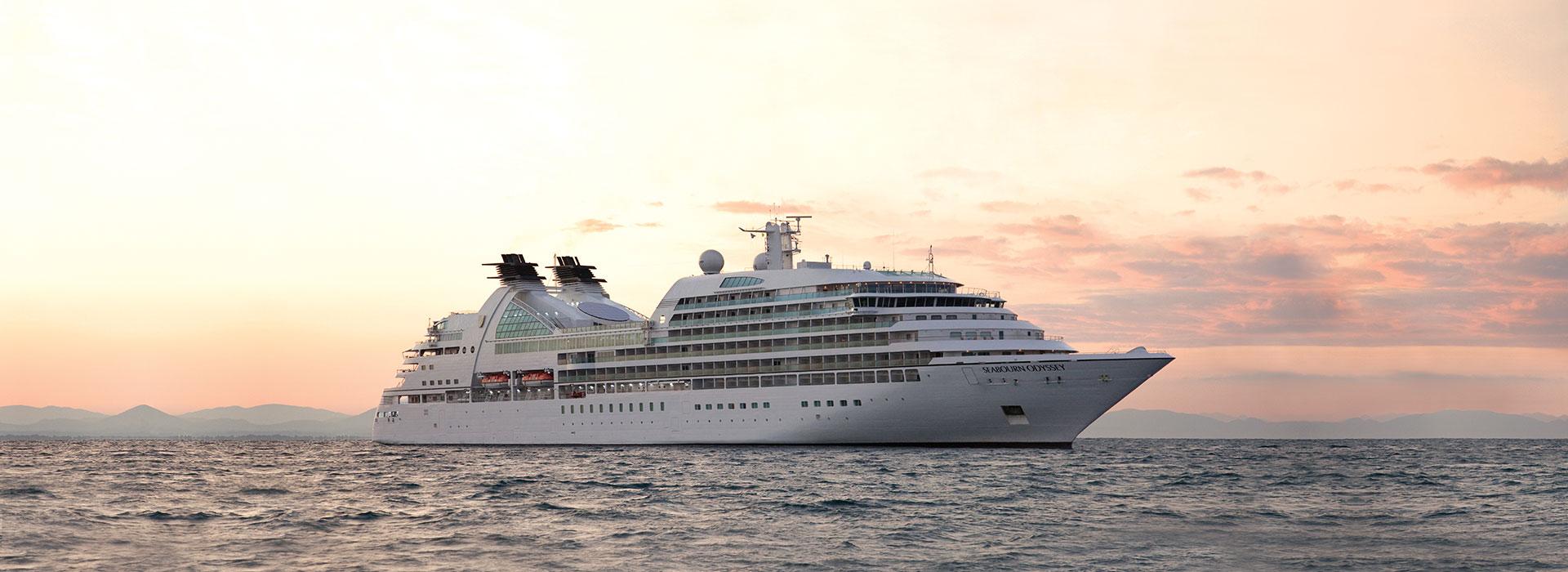 Seabourn Odyssey auf See