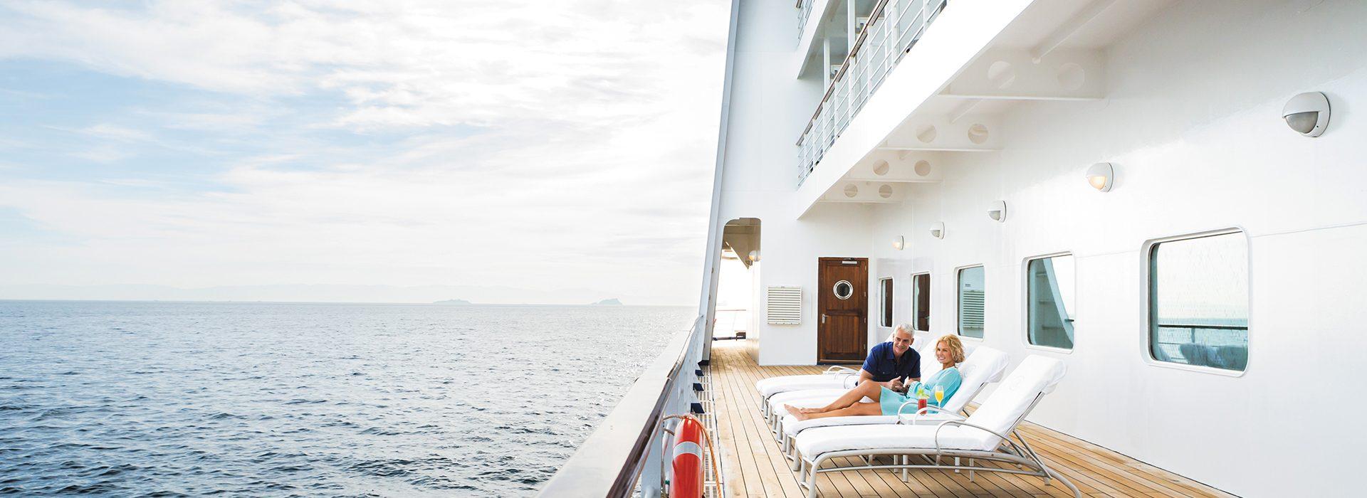 Regent Seven Seas, Kreuzfahrten, Voyager, Deck-Chairs