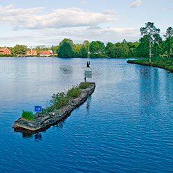 Göta Kanal Reisen See Viken