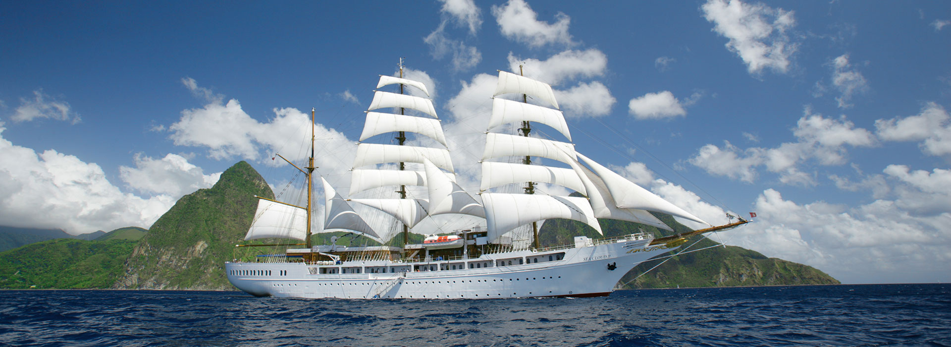 Segelschiff Sea Cloud II